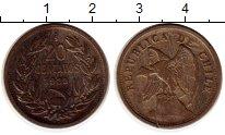 Изображение Монеты Чили 20 сентаво 1923 Медно-никель VF