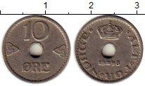 Изображение Монеты Норвегия 10 эре 1948 Медно-никель XF
