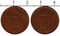 Изображение Монеты Норвегия 2 эре 1928 Бронза XF