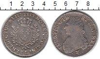 Изображение Монеты Франция 1 экю 1787 Серебро XF