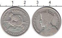 Изображение Монеты Австралия и Океания Новая Зеландия 1 шиллинг 1935 Серебро VF