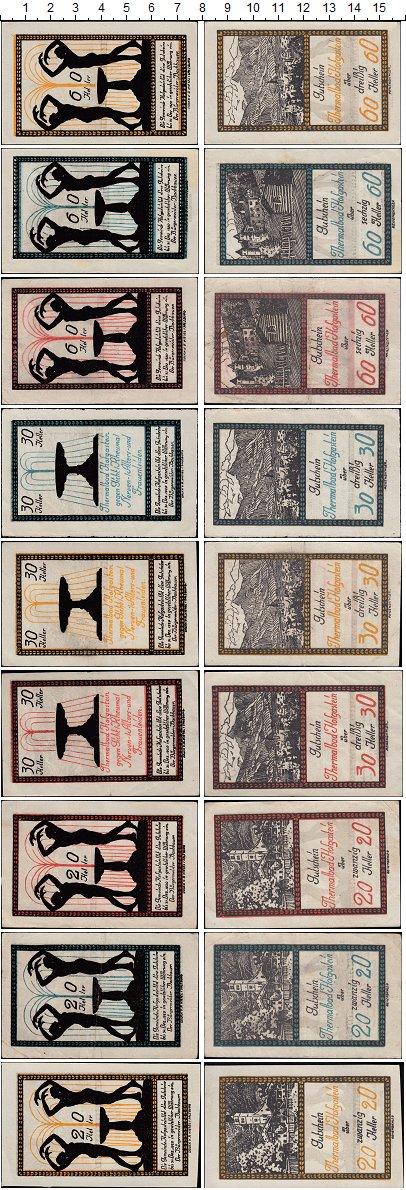 Изображение Банкноты Австрия Набор из 9 нотгельдов 1920  XF