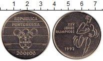 Изображение Монеты Европа Португалия 200 эскудо 1992 Медно-никель UNC-