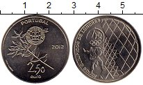 Изображение Монеты Португалия 2 1/2 евро 2012 Медно-никель UNC Олимпийские игры в Л