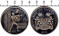 Изображение Монеты Сьерра-Леоне 1 доллар 2003 Медно-никель UNC-