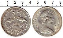 Изображение Монеты Багамские острова 2 доллара 1969 Серебро UNC-
