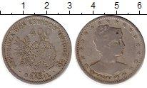 Изображение Монеты Бразилия 400 рейс 1901 Медно-никель VF