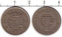 Изображение Монеты Африка Мозамбик 2 1/2 эскудо 1954 Медно-никель XF
