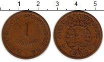 Изображение Монеты Мозамбик 1 эскудо 1962 Бронза VF Португальская колони