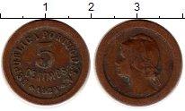 Изображение Монеты Европа Португалия 5 сентаво 1924 Бронза VF