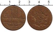 Изображение Монеты Европа Франция 10 франков 1987 Бронза XF