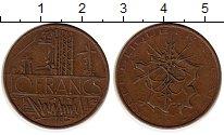 Изображение Монеты Франция 10 франков 1976 Бронза XF