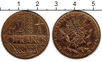 Изображение Монеты Франция 10 франков 1977 Бронза XF