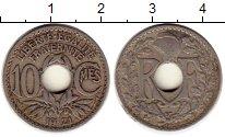 Изображение Монеты Франция 10 сантим 1921 Медно-никель XF