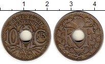 Изображение Монеты Европа Франция 10 сантим 1931 Медно-никель XF