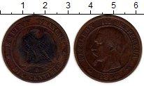 Изображение Монеты Европа Франция 10 сантим 1856 Бронза VF