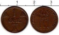 Изображение Монеты Европа Норвегия 1 эре 1947 Бронза XF