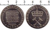 Изображение Мелочь Норвегия 5 крон 1986 Медно-никель UNC- 300-ая Годовщина Мон