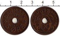 Изображение Монеты Европа Дания 5 эре 1929 Бронза XF