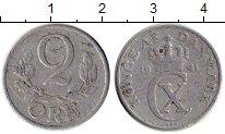 Изображение Монеты Европа Дания 2 эре 1941 Алюминий XF-