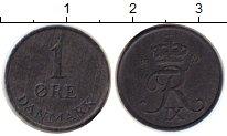 Изображение Монеты Дания 1 эре 1967 Цинк XF