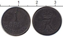 Изображение Монеты Европа Дания 1 эре 1967 Цинк XF
