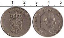 Изображение Монеты Европа Дания 1 крона 1965 Медно-никель XF