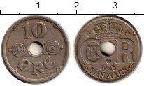 Изображение Монеты Европа Дания 10 эре 1925 Медно-никель XF