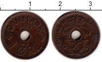 Изображение Монеты Дания 1 эре 1932 Бронза XF