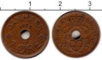 Изображение Монеты Дания 1 эре 1930 Бронза XF