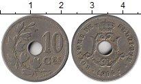 Изображение Монеты Европа Бельгия 10 сантим 1904 Медно-никель XF-