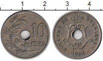 Изображение Монеты Бельгия 10 сантим 1904 Медно-никель XF