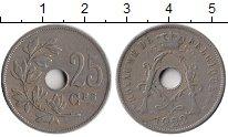 Изображение Монеты Европа Бельгия 25 сантим 1922 Медно-никель XF