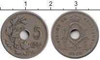 Изображение Монеты Европа Бельгия 5 сантим 1910 Медно-никель XF-