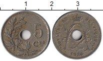 Изображение Монеты Бельгия 5 сантим 1923 Медно-никель XF