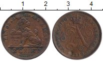 Изображение Монеты Бельгия 2 сантима 1919 Бронза VF Альберт