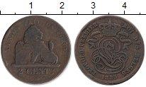 Изображение Монеты Европа Бельгия 2 сантима 1835 Медь VF