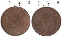 Изображение Монеты Ирландия 1 пенни 1928 Бронза XF-