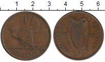 Изображение Монеты Европа Ирландия 1 пенни 1935 Бронза XF