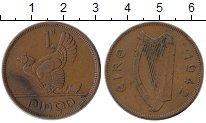 Изображение Монеты Европа Ирландия 1 пенни 1942 Бронза XF
