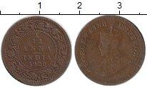 Изображение Монеты Индия 1/12 анны 1920 Бронза XF- Георг V