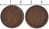 Изображение Монеты Шри-Ланка Цейлон 1 цент 1942 Бронза XF