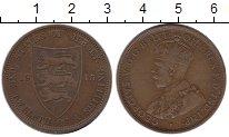 Изображение Монеты Остров Джерси 1/12 шиллинга 1913 Бронза XF-
