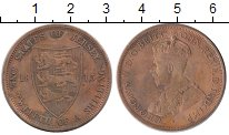 Изображение Монеты Великобритания Остров Джерси 1/12 шиллинга 1913 Бронза VF