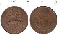 Изображение Монеты Эфиопия 5 центов 1944 Бронза VF