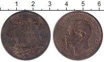 Изображение Монеты Италия 10 сентесим 1867 Бронза VF Виктор Эммануил II