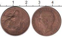 Изображение Монеты Италия 10 сентесим 1934 Бронза XF-