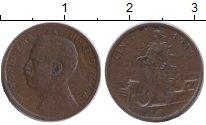 Изображение Монеты Европа Италия 1 сентесимо 1915 Бронза XF