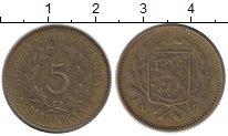 Изображение Монеты Финляндия 5 марок 1949 Латунь VF
