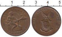 Изображение Монеты Азия Филиппины 1 сентаво 1944 Бронза XF